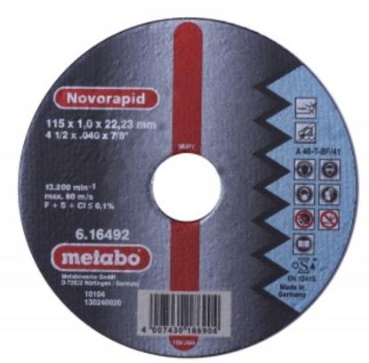 Imagen de DISCO CORTE #616258  (4.1/2X1.0)LISO(METABO)