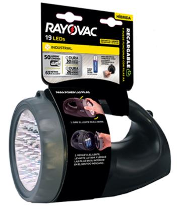 Imagen de RAYOVAC LINTERNA RECARGABLE 19 LED
